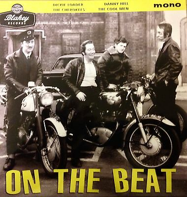 On The Beat' Vinyl Ep - The Cherokees, Dickie Loader, Danny Hill, Cool Men -