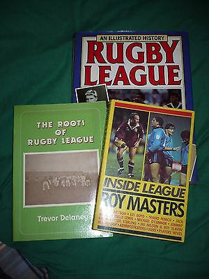 Collection (3) Rugby League books