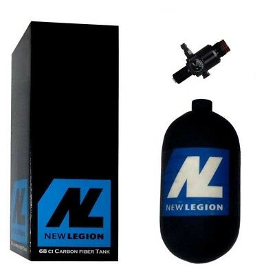 1,1 Liter New Legion Dwarf Composite HP System inkl. Ninja UL Regulator