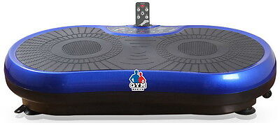 REBOXED Gym Master Slim CRAZY FIT VIBRATION Massage Power Plate Blue A077