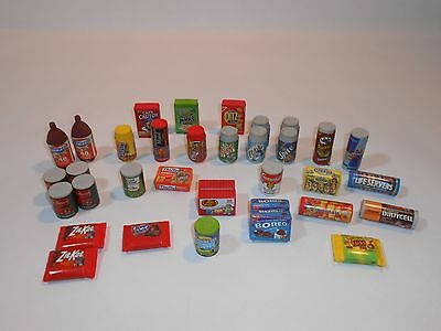 Wacky Packages Erasers Mixed Bundle Lot 35 in all!