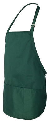 Liberty Bags Men's Comfort Neck Strap Three Pockets Rounded Bottom Apron. 9724