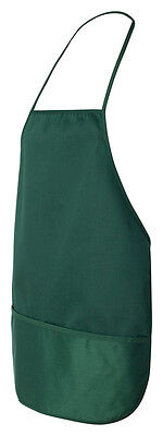 Liberty Bags Women's Soft Trimmed Rounded Bottom Two Pockets Apron. 9324