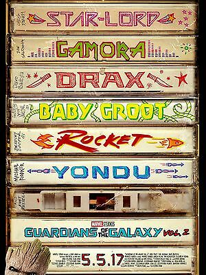 "Guardians of the Galaxy 2 16"" x 12"" Reproduction Movie Poster Photograph"