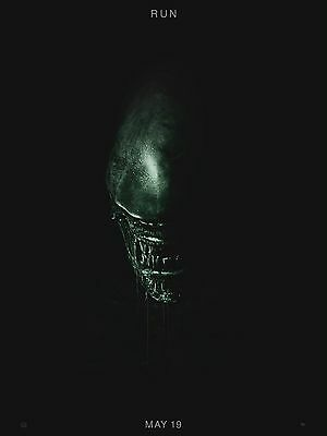 "Alien Covenant 16"" x 12"" Reproduction Movie Poster Photograph"