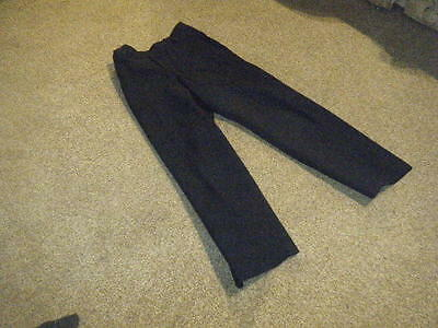 M&S Boys Navy Blue School Trousers age 6