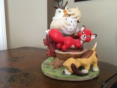 Disneys Magic Memories Collection The Fox and the Hound LE #5169/1500