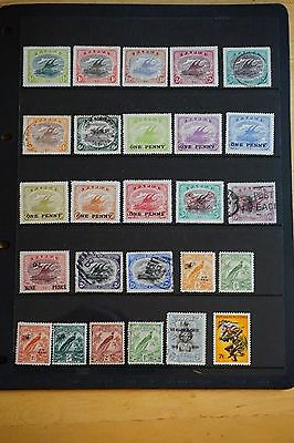Papua New Guinea stamp collection