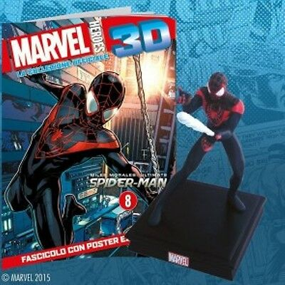 MARVEL HEROES 3D VOL 8 Miles Morales.PANINI CENTAURIA