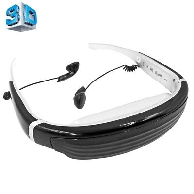 HI-TECH VISION-720A 68 inch Private Virtual Theater Video Glasses Display, Supp