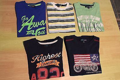 Lot 5 tee-shirts YCC taille 6 ans