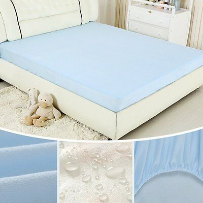 Bed Bug Dust Mite Allergy Relief Waterproof Mattress cover Pad Protector Topper