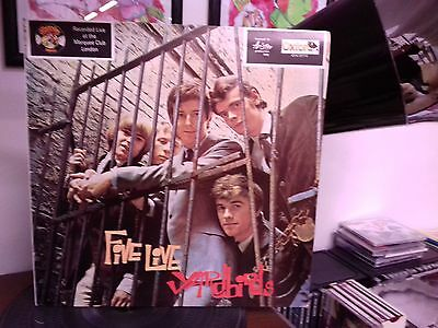 Yardbirds Five Live Vinile Lp