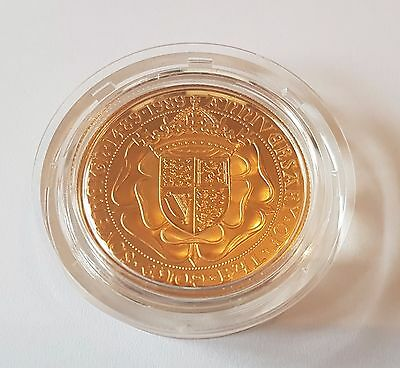 1989 £2 Gold Proof - 500Th Ann. Tudor Rose  - Two Pound - Double Sovereign - Fdc