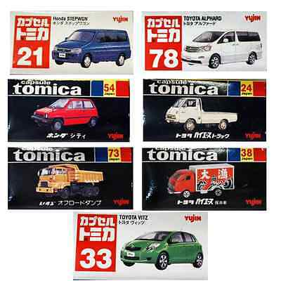 TOMICA Limited Edition Micro 1:160 Scale Series - Set of 7 Cars MINT-IN-BOX