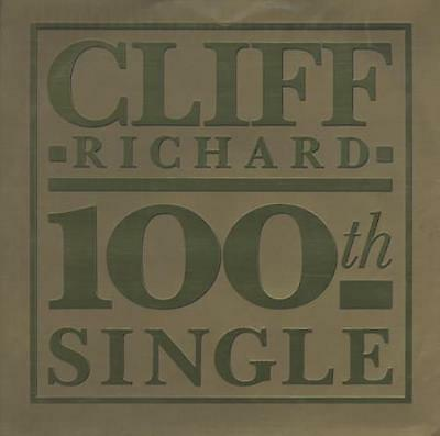 "Cliff Richard The 100th Single - Gold Em... UK 12""  record (Maxi)"