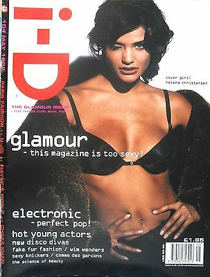 I - D MAGAZINE Issue 104 HELENA CHRISTENSEN Wim Wenders ELECTRONIC Johnny Marr