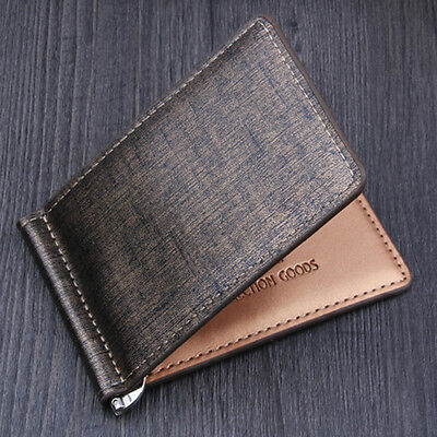 Men Bifold Business Leather Wallet ID Credit Card Holder Purse Pockets Billfold