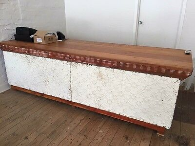 Timber Shop Front Counter
