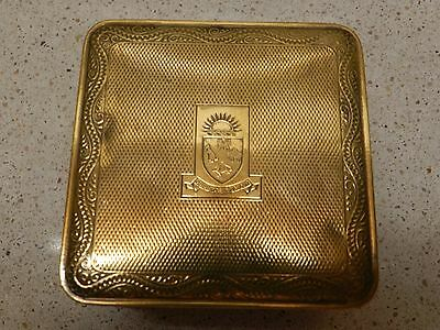 P&O Vintage Brass, Jewellery, Ring Box 'Quis Nos Separabit'