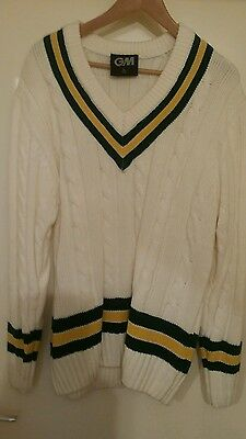 Cricket Sweater Gunn And Moore Mens Large