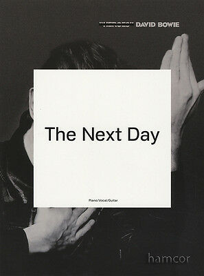 David Bowie The Next Day Piano Vocal Guitar Sheet Music Book