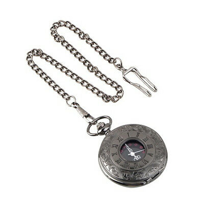 Pattern Quartz Pocket Watch Pocket Watch Hollow Pointer Display Roman Numbers