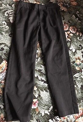 Black School Trousers Good Condition 8-9 Years From F&F