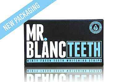 Mr Blanc Teeth Whitening Strips - 2 Weeks Supply