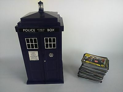 Dr Who Tardis and Monster Invasion Collector Cards