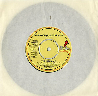 """Little Anthony And The... Who's Gonna Love Me - 4pr 7""""  record UK"""