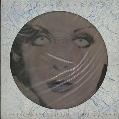 """Supercharge I Can See Right Thru You - C... 12""""  record (Maxi) UK"""