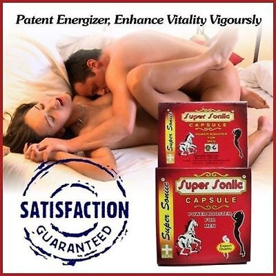 100% Ayurvedic Power Sex Power Booster Capsules For MEN - SUPER SONIC CAPSULES