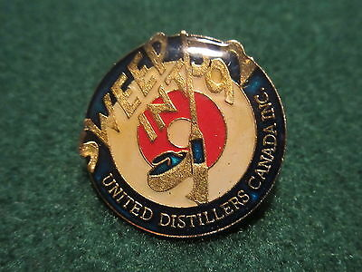 United Distillers Canada INC Sweep into 92 Curling Pin