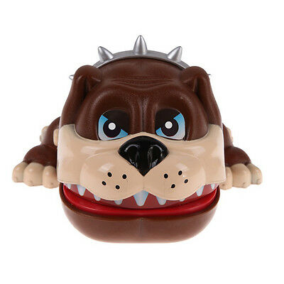 Funny Dog Tooth Lucky Bulldog Mouth Dog Game Dentist Bite Finger Toy