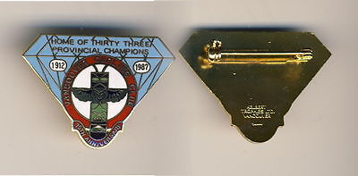 Vancouver CC 75 Anniversary Curling Pin