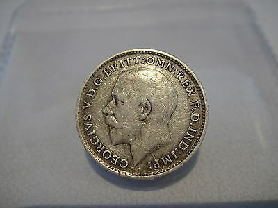 1919 Threepence, Sterling Silver George V