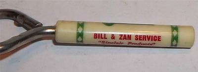 Vintage Bill and Zan Sinclair Service Bottle Cap Opener