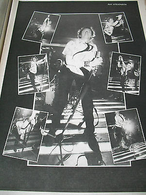 The Sex Pistols John Lydon Johnnie Rotten Great 1977 Full Page Pic