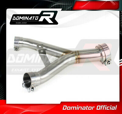 DE-CAT DECAT Cat Eliminator Down Pipe Exhaust DOMINATOR KAWASAKI Z1000 11-18