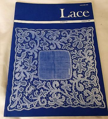 LACE  MAGAZINE, LACE No.19 SUMMER 1980  ISSN 6308-3039