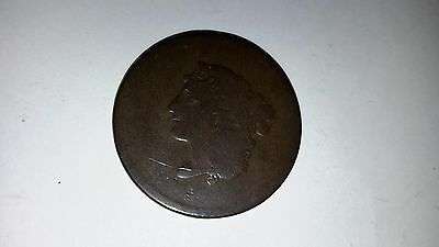 Date Unknown Coronet Head Large One Cent  (949D)