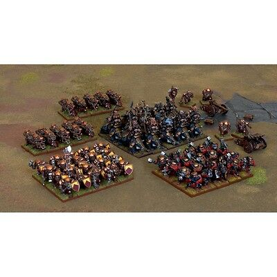 Mantic Games Kings of War - Dwarf Army Set (Old Style) - MGKWD83-1