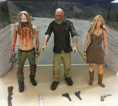 """The Devil's rejects NECA """"House of 1000 corps"""" 3 figure set"""