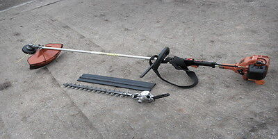 tanaka strimmer/brushcutter c/w hedge trimmer attachment