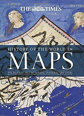 History of the World in Maps Book by Ashworth  Mick (Hardback) 9780008147792