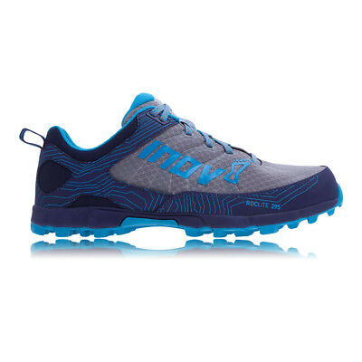 Inov8 Roclite 295 Womens Blue Trail Running Sports Shoes Trainers Pumps