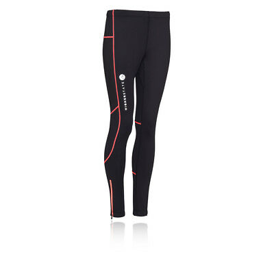 Higher State Womens Black Running Sports Gym Long Tights Bottoms Pants