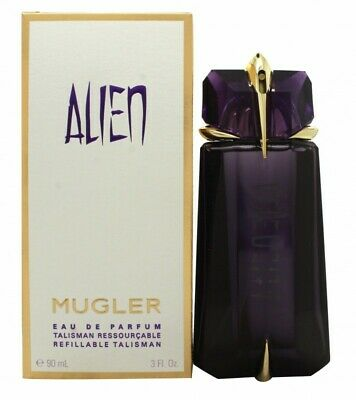 Thierry Mugler Alien Eau De Parfum 90Ml Refillable Spray - Women's For Her. New