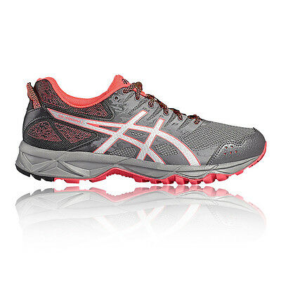 Asics Gel Sonoma 3 Womens Silver Trail Running Road Sports Shoes Trainers